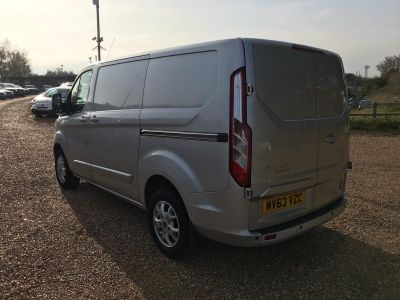 FORD TRANSIT CUSTOM 270 LIMITED LR P/V - 3458 - 7