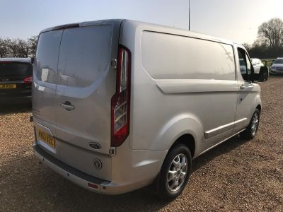 FORD TRANSIT CUSTOM 270 LIMITED LR P/V - 3458 - 8