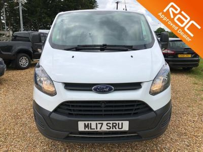 used ford transit custom 2 0 tdci 290 l1h1 panel van 5dr white 2 0 panel van witney. Black Bedroom Furniture Sets. Home Design Ideas
