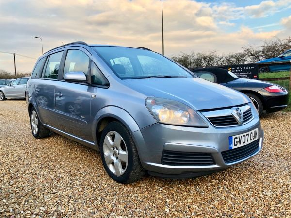 Used VAUXHALL ZAFIRA in Witney, Oxfordshire for sale